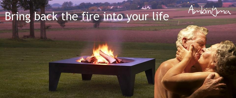 Lareira de exterior M-Design Fire Pits