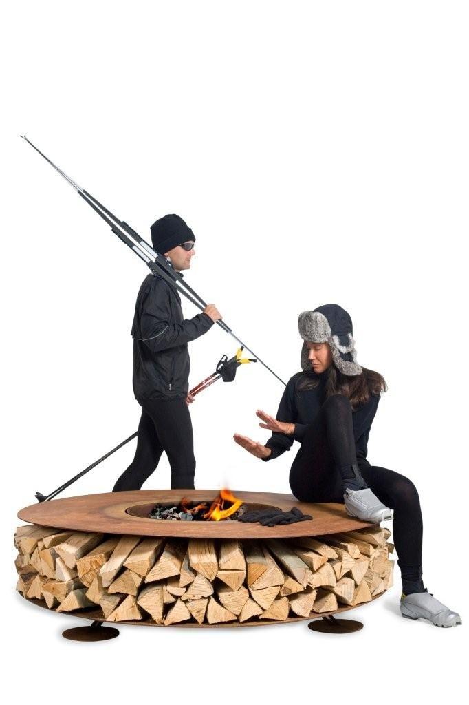 Mesa modelo - ZERO em aço corten