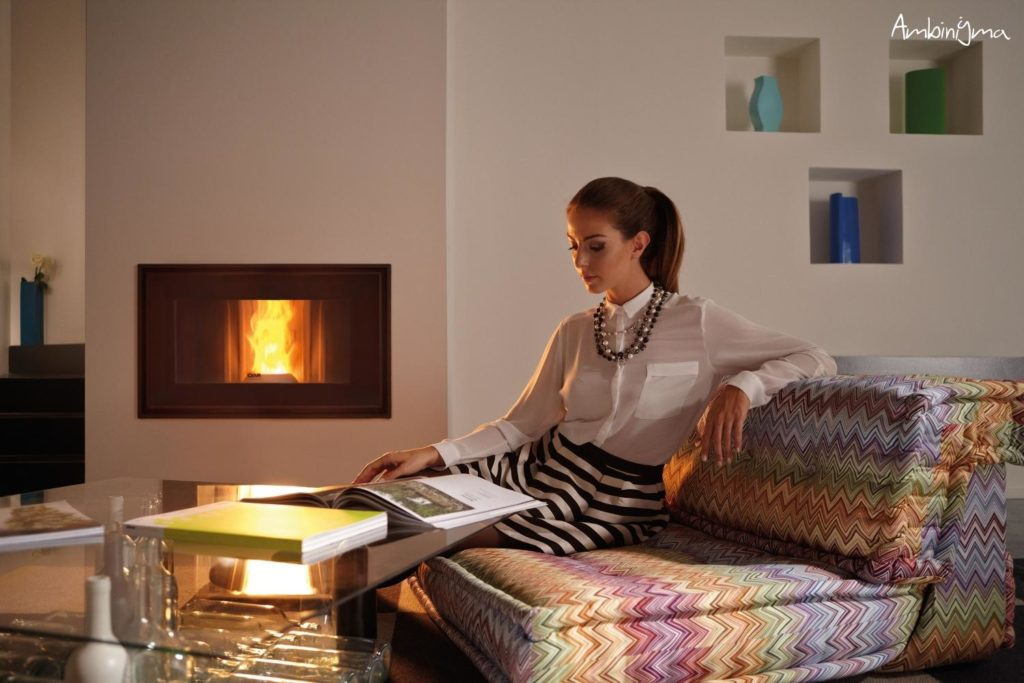 Recuperador a pellets com grande eficiência energética
