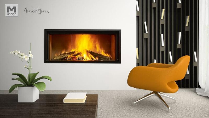 Recuperador de calor a lenha M Design