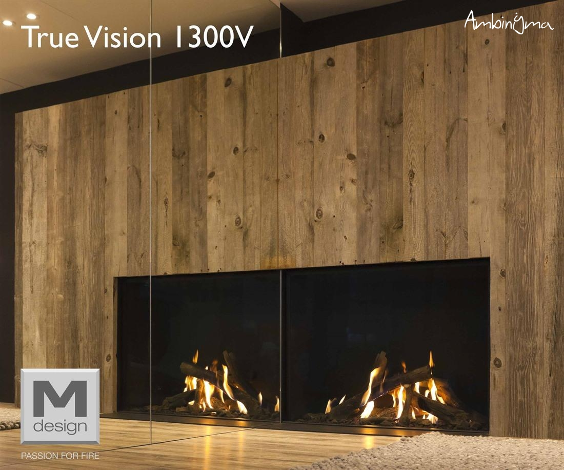 LAREIRA M.DESIGN GAS TRUE VISION 1300 V