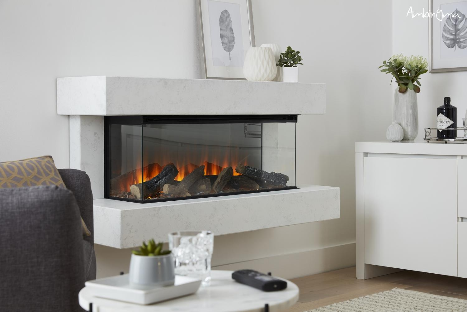 Lareira Elétrica NEW FOREST ELECTRIC FIRE 1200