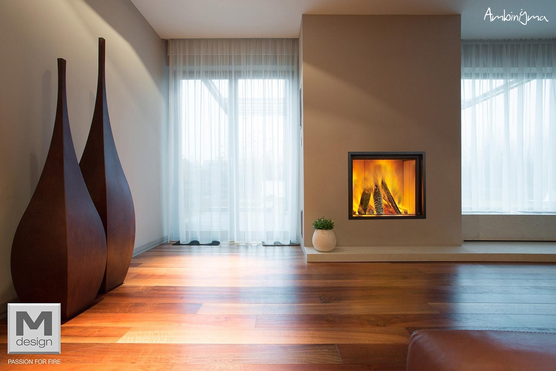 Recuperadores m design lenha alta gama for Design decoratie woonkamer